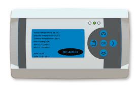 DC 9300 12v 24v 48V 400V AC DC split air conditioner